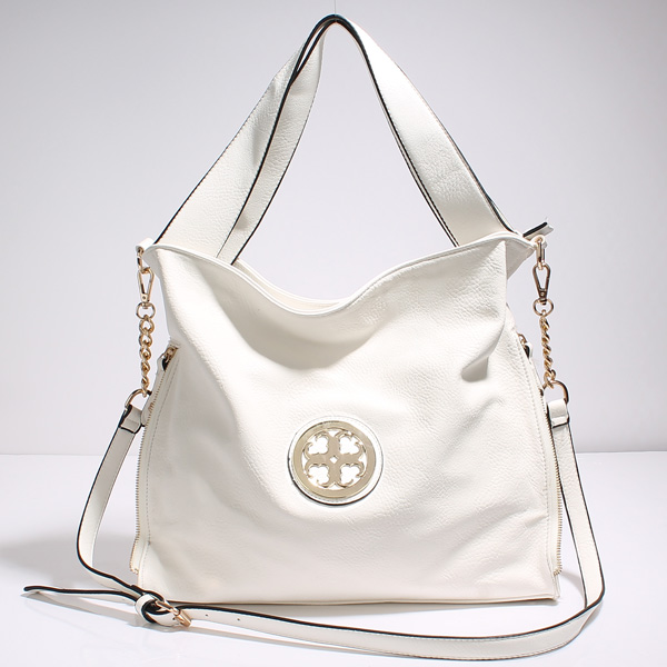Wholesale Lady Tote Handbags T26511#WHITE