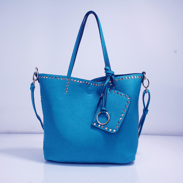 Wholesale Lady Tote Handbags T26519#BLUE