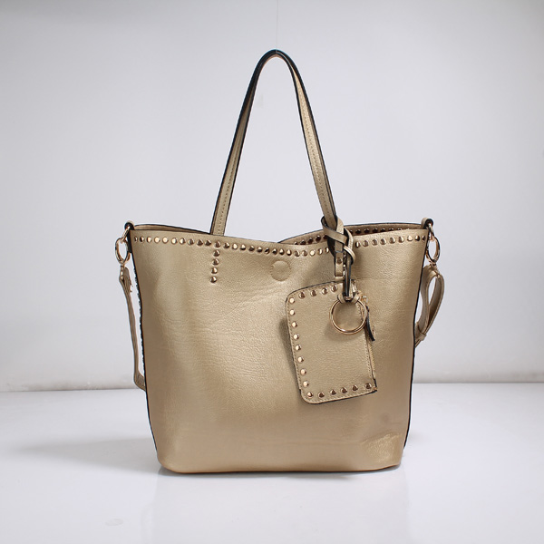 Wholesale Lady Tote Handbags T26519#GOLDEN