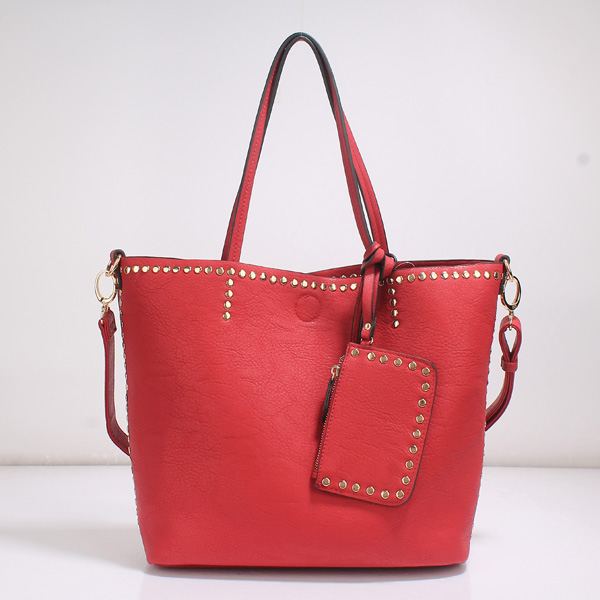 Wholesale Lady Tote Handbags T26519#RED