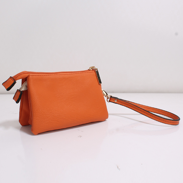 Wholesale Clutches Bags T55#ORANGE
