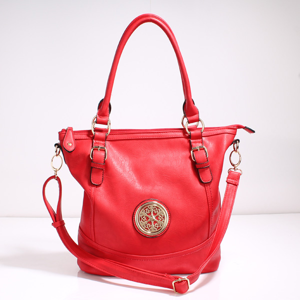 Wholesale Lady Tote Handbags T71012#RED