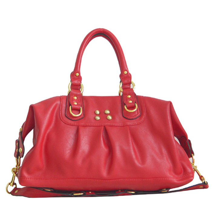 Wholesale Lady Tote Handbags T74098#RED