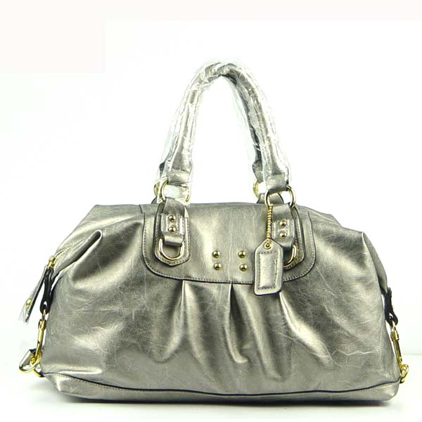 Wholesale Lady Tote Handbags T74098#SILVER