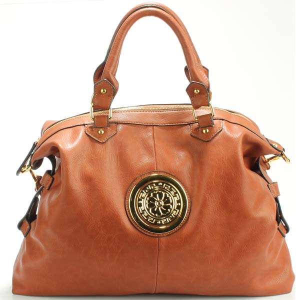 Wholesale Lady Tote Handbags T83361#BROWN