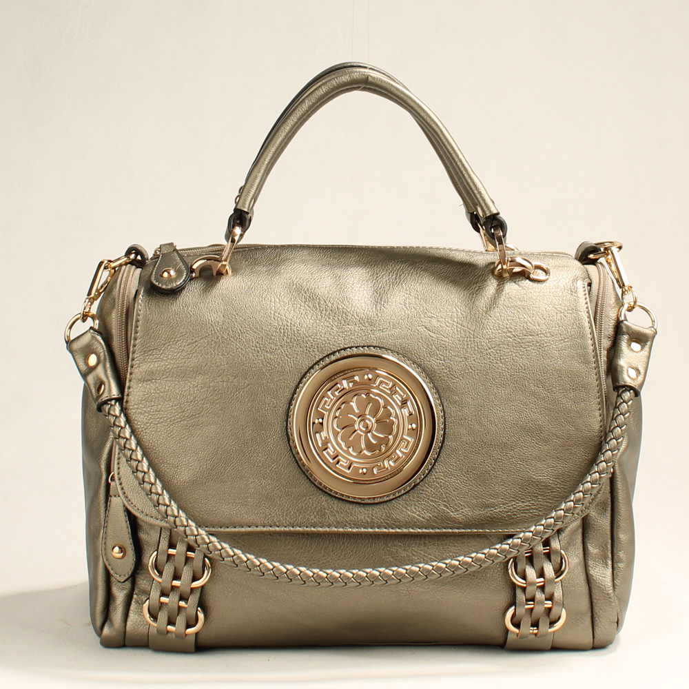Wholesale Lady Tote Handbags T83537#SILVER