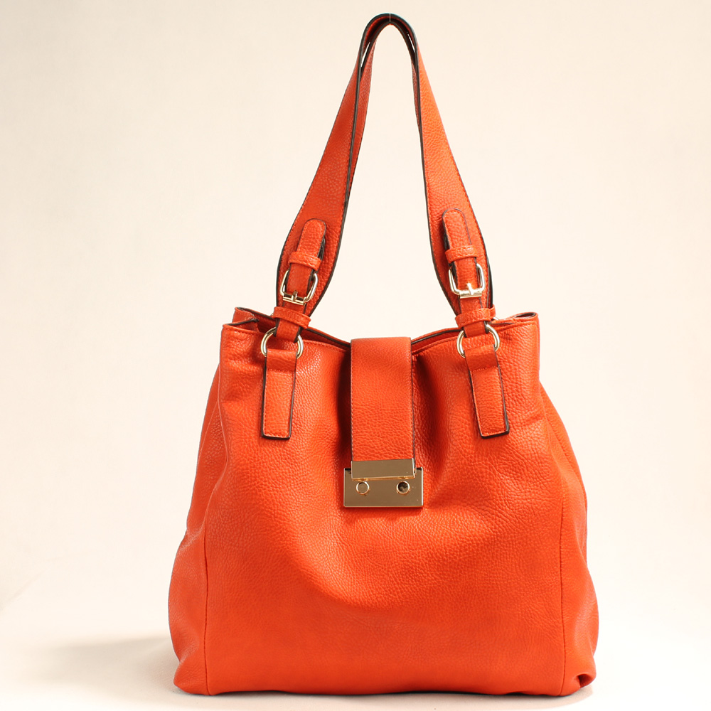 Orange Satchel Handbag | Luggage And Suitcases