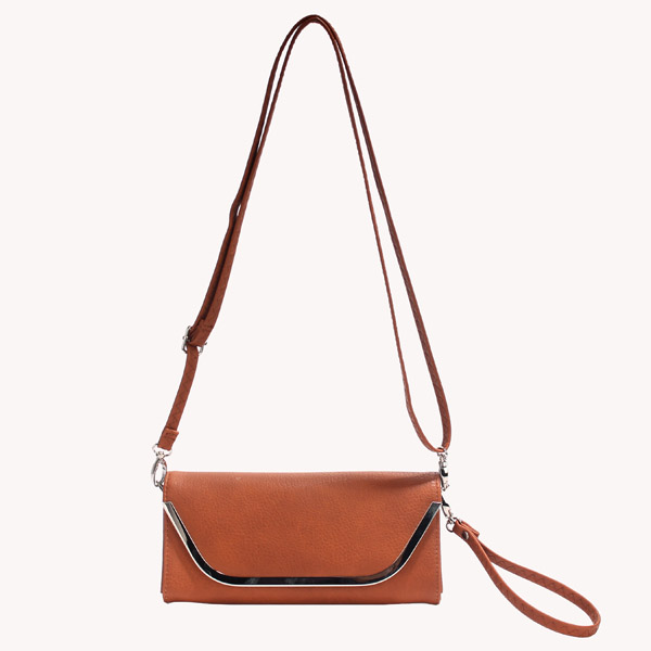 Wholesale Clutches Bags T26515#BROWN