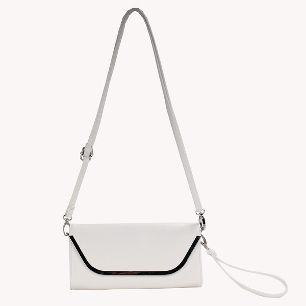 Wholesale Clutches Bags T26515#WHITE